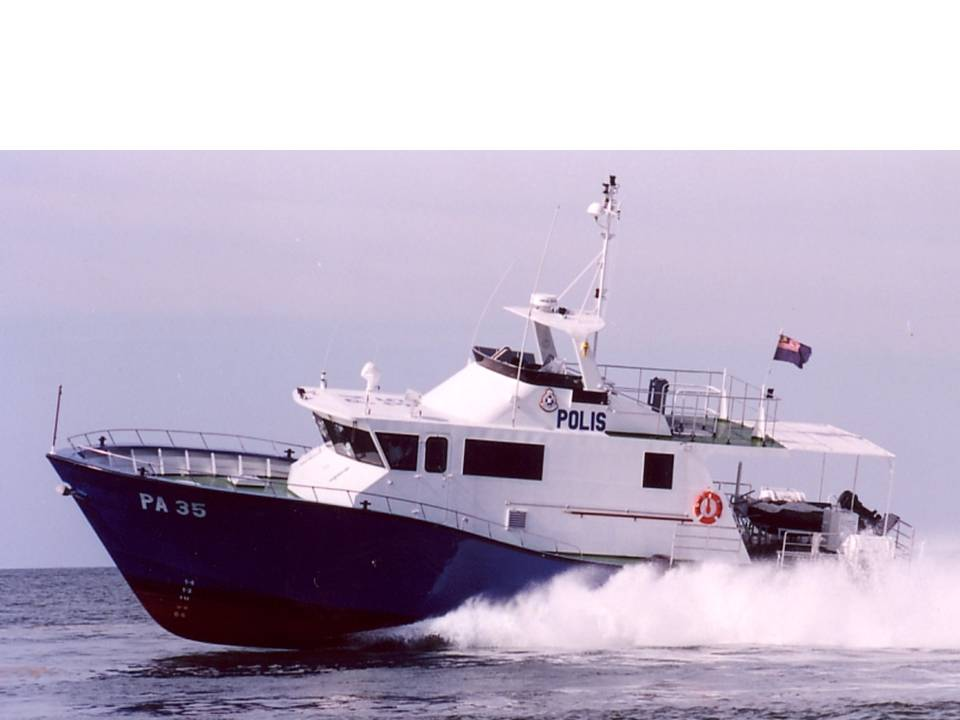 A Royal Malaysian Police's PA-class patrol craft