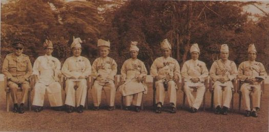 The Predecessors of the current Rulers at a Rulers' Conference