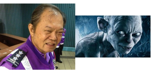 Sméagol and Gollum. Innocent and dangerous at the same time.