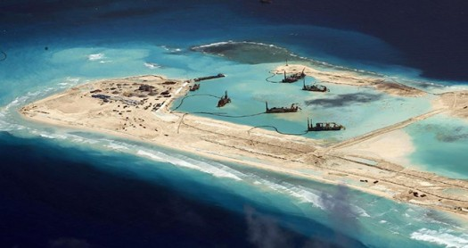 China's build-up in the South China Seas brings this region closer to a conflict