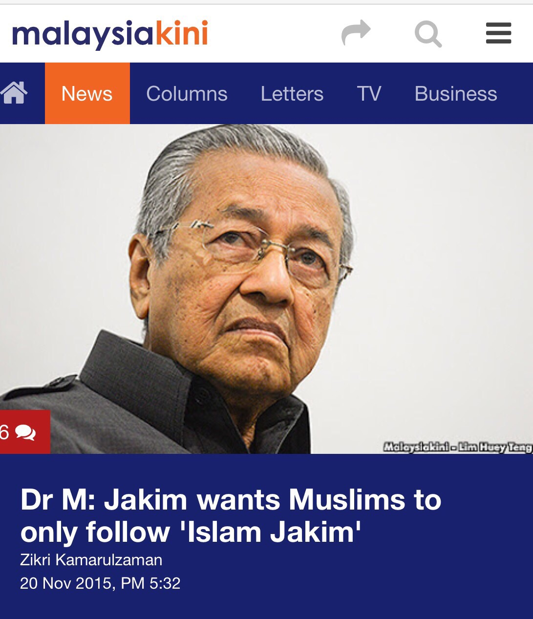 Perhaps, this person who is always mudah lupa especially during the PKFZ  hearings, has also lupa that he wants Malaysians to accept another version  of Islam ...