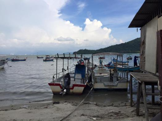The Malay fishing community of Queensbay (formerly known as Pantai Jerejak) will soon be gone
