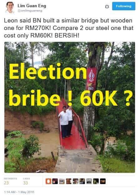 DAP's development promise to Sarawak