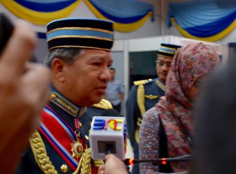 General Tan Sri Roslan bin Saad TUDM, Chief of the RMAF