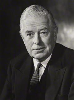 "Cameron Fromanteel ""Kim"" Cobbold, 1st Baron Cobbold - by Godfrey Argent, 1970"