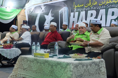 Muhyiddin spoke on a PAS platform recently on 1MDB