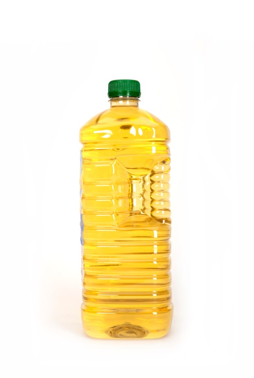 Bottled cooking oil - subsidised by the government but sold outside the country