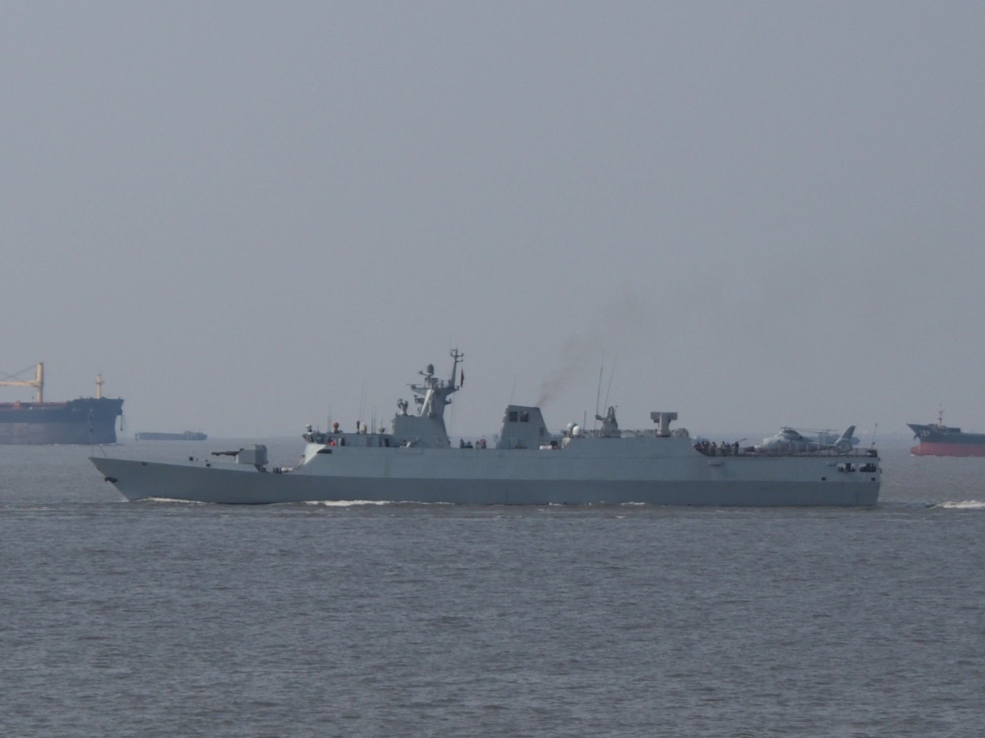 The Royal Malaysian Navy has announced the procurement of up to four vessels from China for its Littoral Mission Ships programme. The Type 056 corvettes virtually matches the requirements of the RMN (image by Wikipedia)