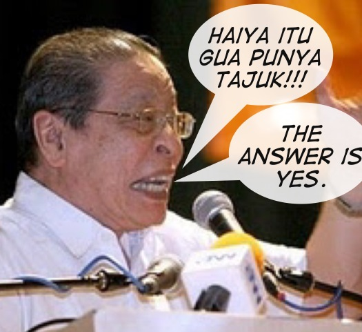 Kit Siang also published a book on the BNM Forex losses scandal