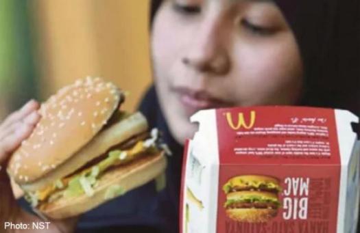 Big Mac di Malaysia - gambar ehsan NST