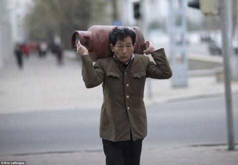 Kang Chol without his Jaguar