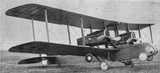 RMAF AirCo DH.10 bombers that the RMAF used extensively during World War One in the Battle of Kampung Pisang