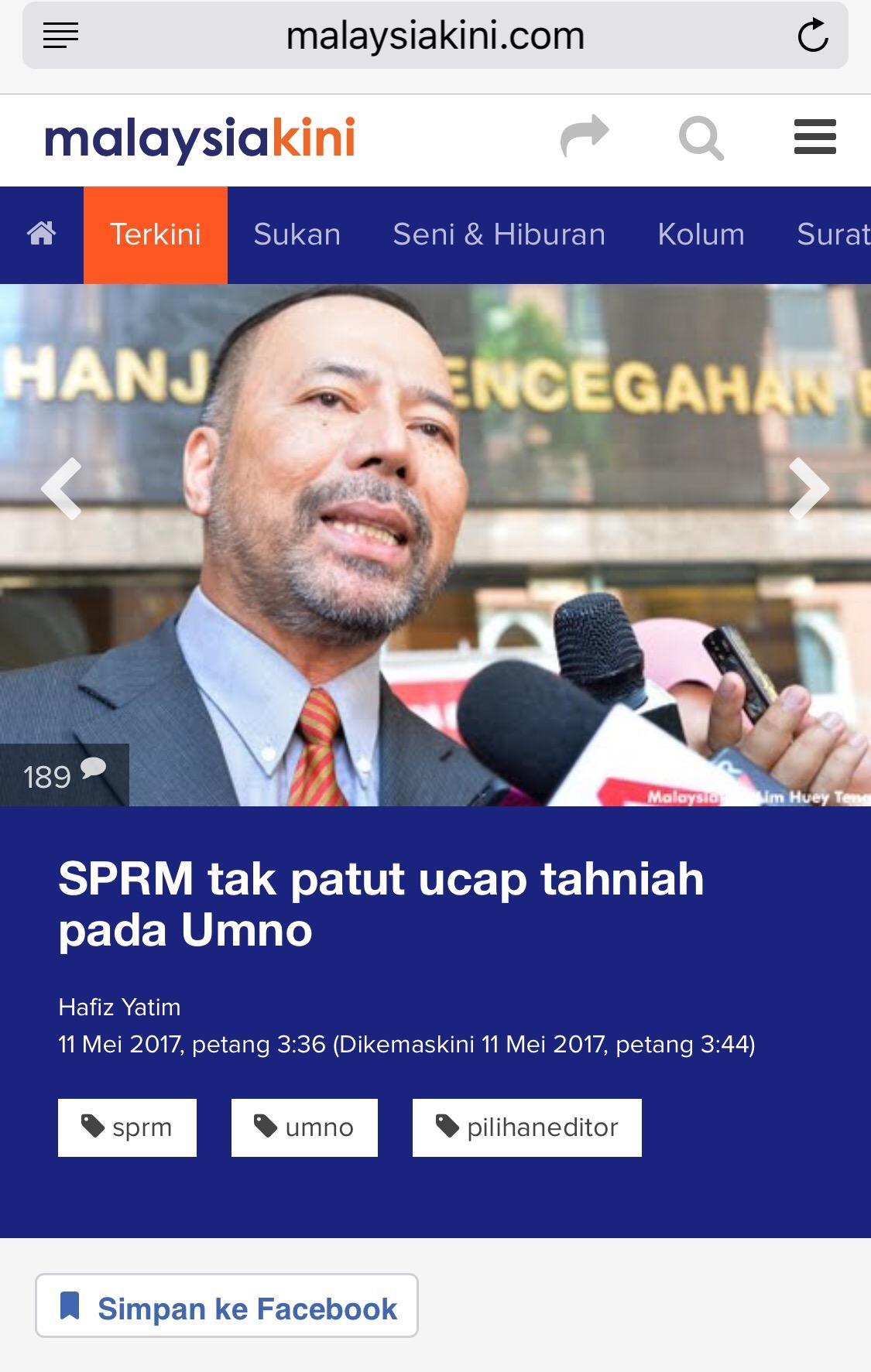 Khairuddin Should Congratulate Guan Eng