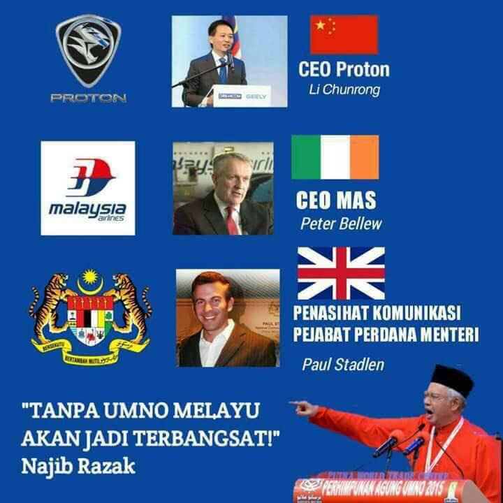 Image result for Gambar CEO Mas , Proton orang asing