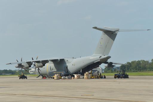 A400M disaster relief